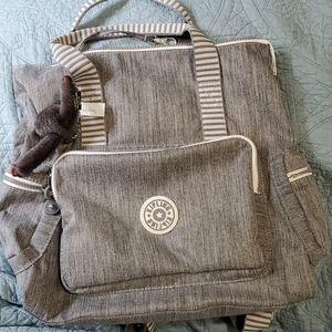 Kipling backpack purse
